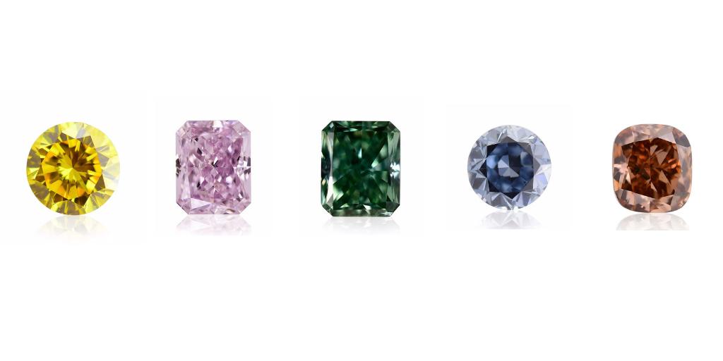 O barwie diamentu