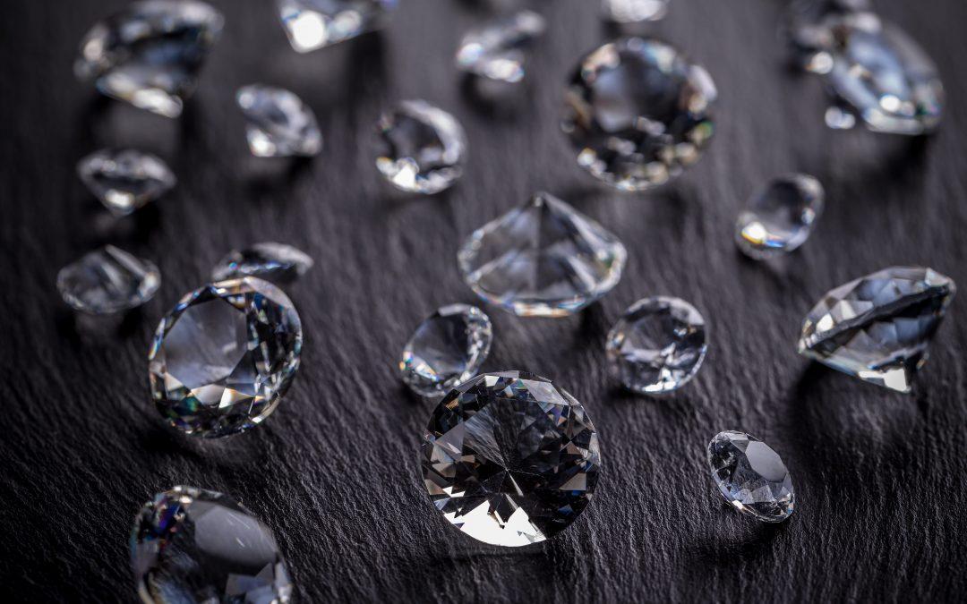 O czystość diamentu